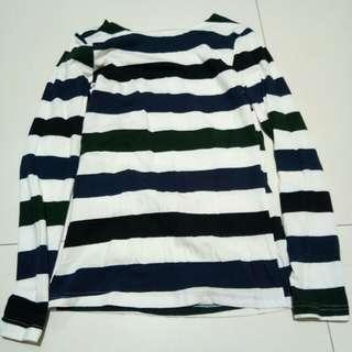 Longsleeves Stripes Blouse