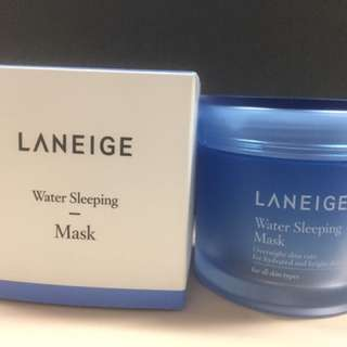 Laneige Water Sleeping Mask 70ml (real Size)
