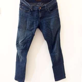 NUDIE JEANS TIGHT LONG JOHN ORG BLUE DOT
