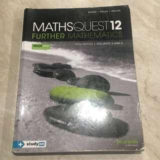 Maths Quest 12 - Further Maths Units 3/4