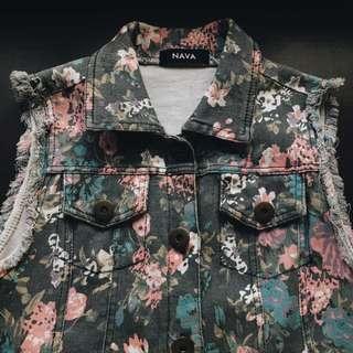 Nava: Floral Vest