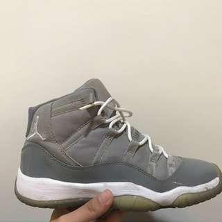 🚚 Jordan cool gray  US4.5 可小議