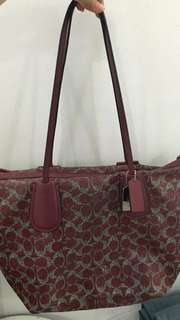 Red Coach Taxi bag