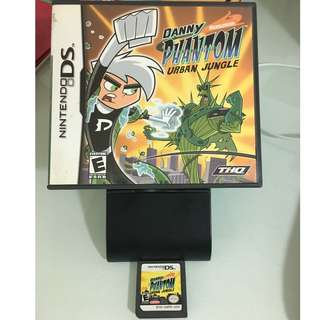 NDS Danny Phantom Urban Jungle (with Game Case and card)