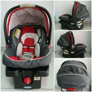 GRACO SnugRide® Click Connect™ 35 Infant Car Seat (RED)