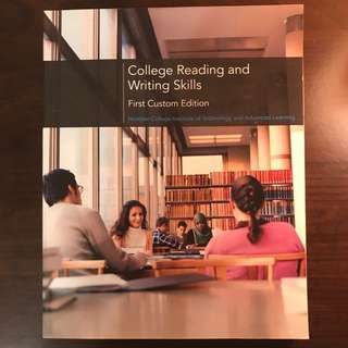College Reading And Writing Skills (first custom edition)