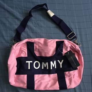 TOMMY HILFIGER mini travel gym duffle bag