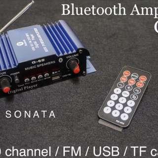 藍芽擴大機Bluetooth Amplifier 2.0channel