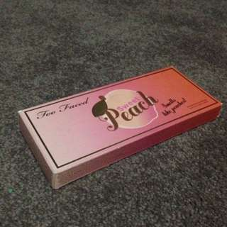 Authentic Two Faced Sweet Peach Palette