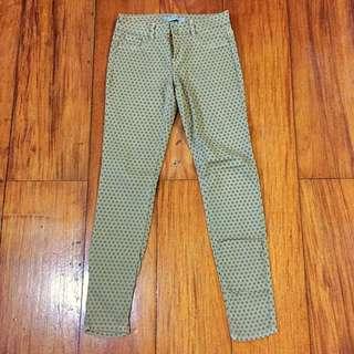 Zara Trafaluc Tan Dotted Jeans