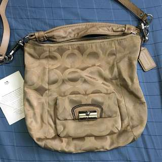 COACH Fabric Shoulder Bag