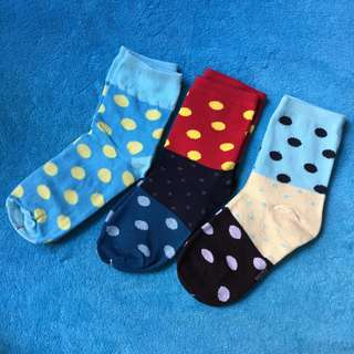 波點 彩色 短襪 女 小童 $25@3對包平郵