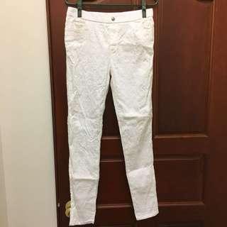 二手白色長褲