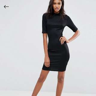 New Look TALL Cap Sleeve Bodycon Dress