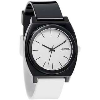 Nixon Timeteller Black And White Watch
