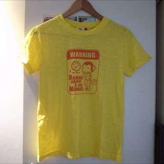 馬桶洋行 T-shirt 黃
