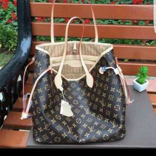 Louis Vuitton LV Neverfull Monogram Handbag New