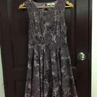 Ya Purple Cocktail Dress