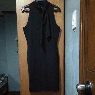 SM Career Ladies Black Dress