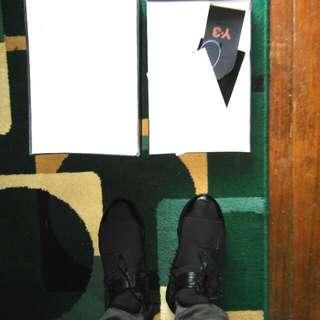 Adidas Y3 Qasa High All Black Size 43 New 100% Premium High Quality