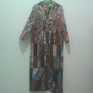 Gamis Batik Perca
