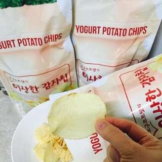 南韓-怪怪洋芋片