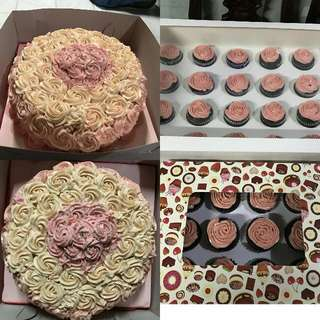 Cakes And Cupcakes :)
