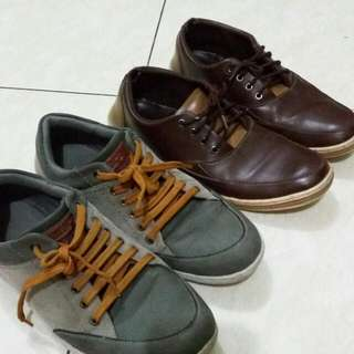 2 Pairs Of Men's Republic Shoes!