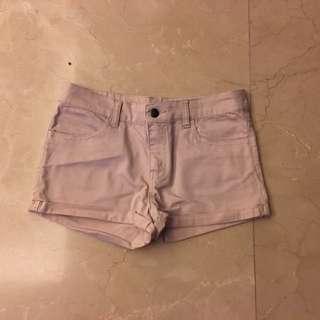 Light Pink Jeans Shorts 淺粉紅色 短褲