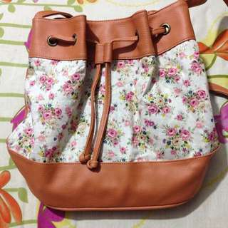 Jual MURAH Brown Sling Bag