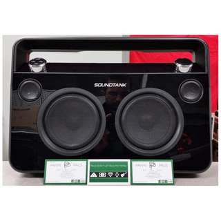 SoundTank Portable Bluetooth Boombox