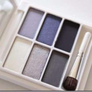 6 Snowglobe MAC Eye Shadows Palette