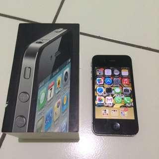 Jual Iphone 4 Black - 16 GB