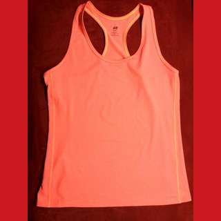 Sportswear Colour : Orange Neon Size : L Brand : H&M