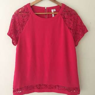 Magenta Forever New Top