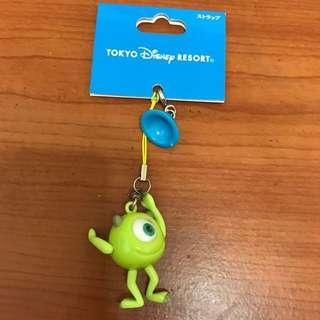 日本 迪士尼。可愛 吊飾 大眼仔 怪獸電力公司