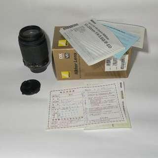 Nikon 55-200mm/F4-5.6 G ED AF-S DX VR Zoom-Nikkor Lens