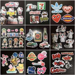 Waterproof Stickers