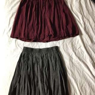 Brandy Melville Flowy Skirts