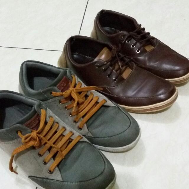 2 Pairs Of Men's Republic Shoes!