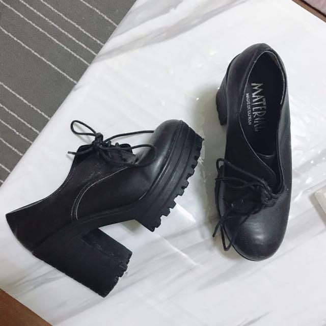 粗跟厚底鞋