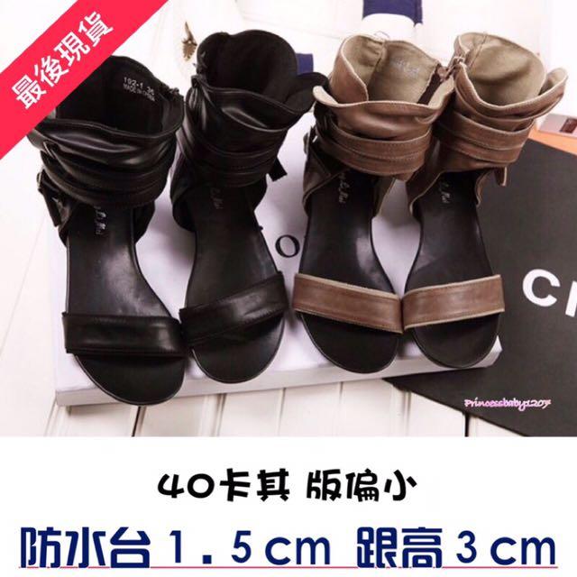 NEW🔹韓版羅馬鏤空涼鞋