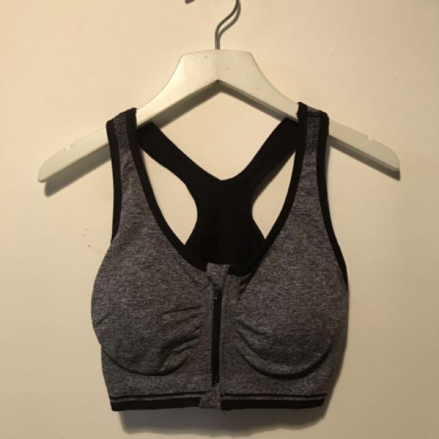 🏸深灰色包覆運動型內衣⛹🏼♀️🚴🏼♀️