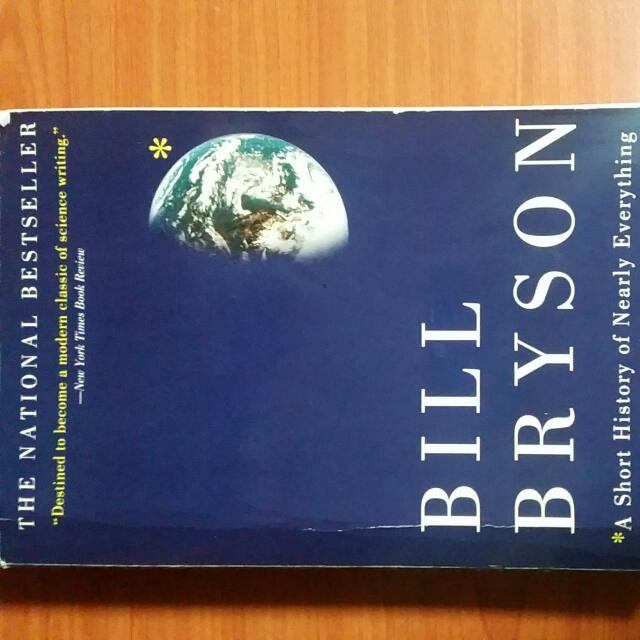 GEH1033 A Short History Of Nearly Everything Bill Bryson