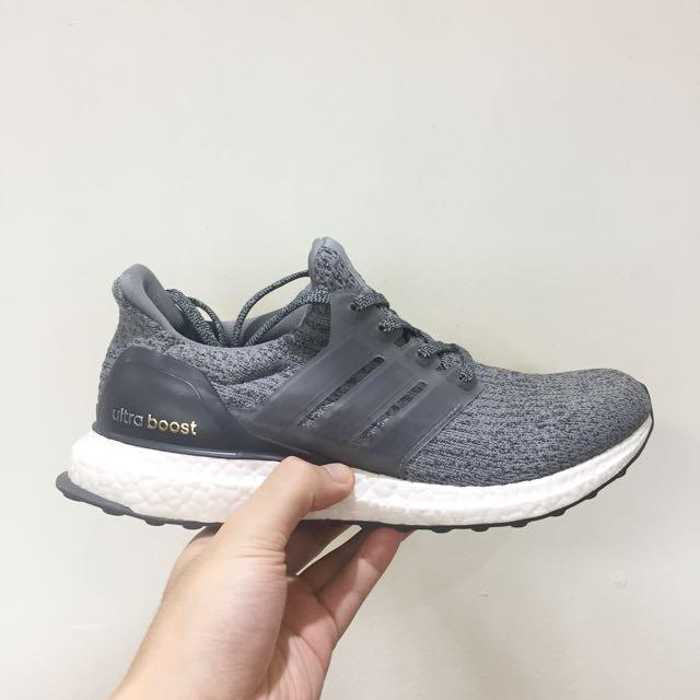 e434afb949827 Adidas Ultra Boost 3.0 Mystery Grey