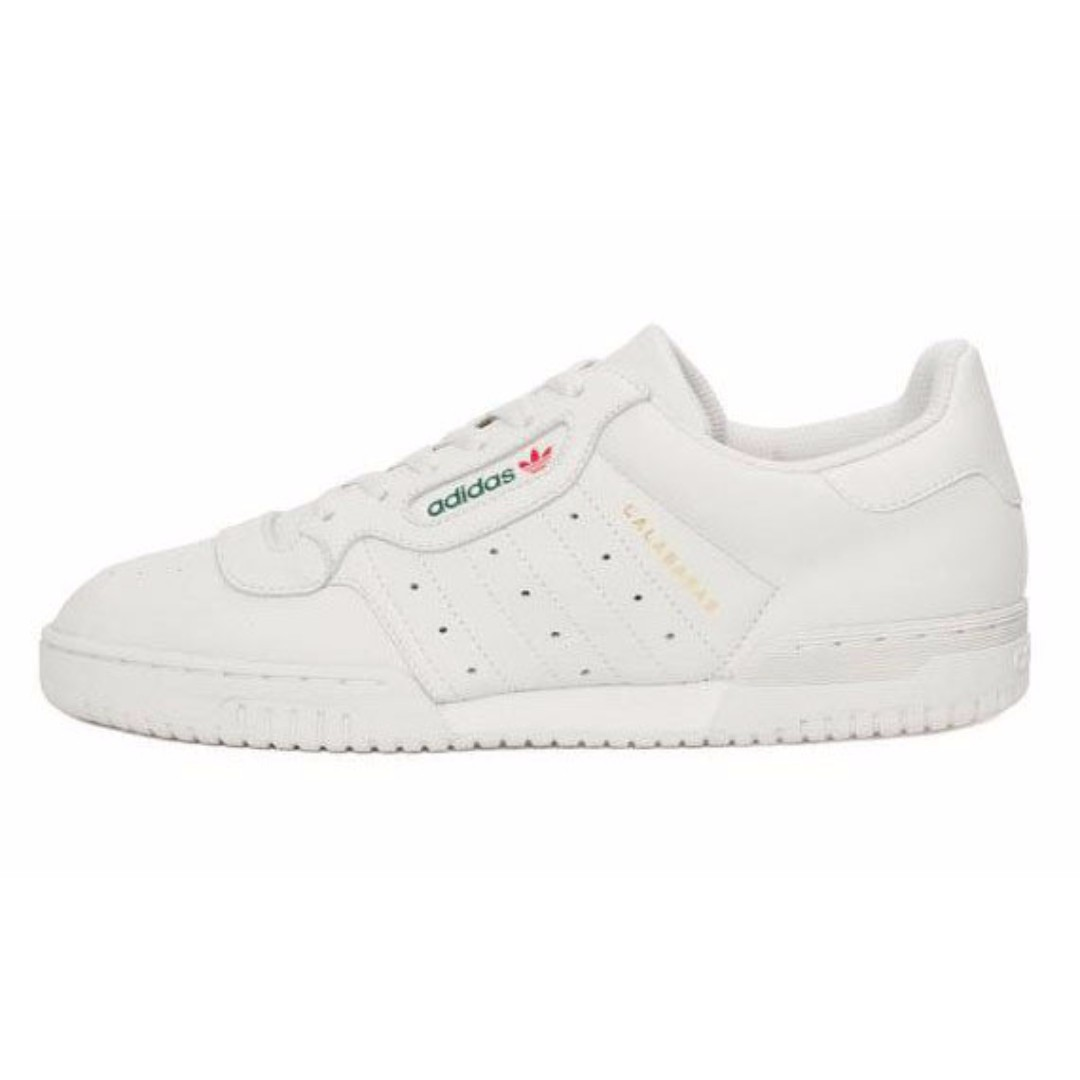 Adidas Yeezy Powerphase Calabasas Core White, Men's Fashion, Footwear, Sneakers on Carousell