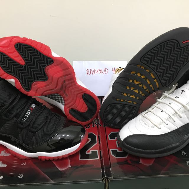 best authentic 763ca 775d4 Air Jordan 11 12 Countdown Pack on Carousell