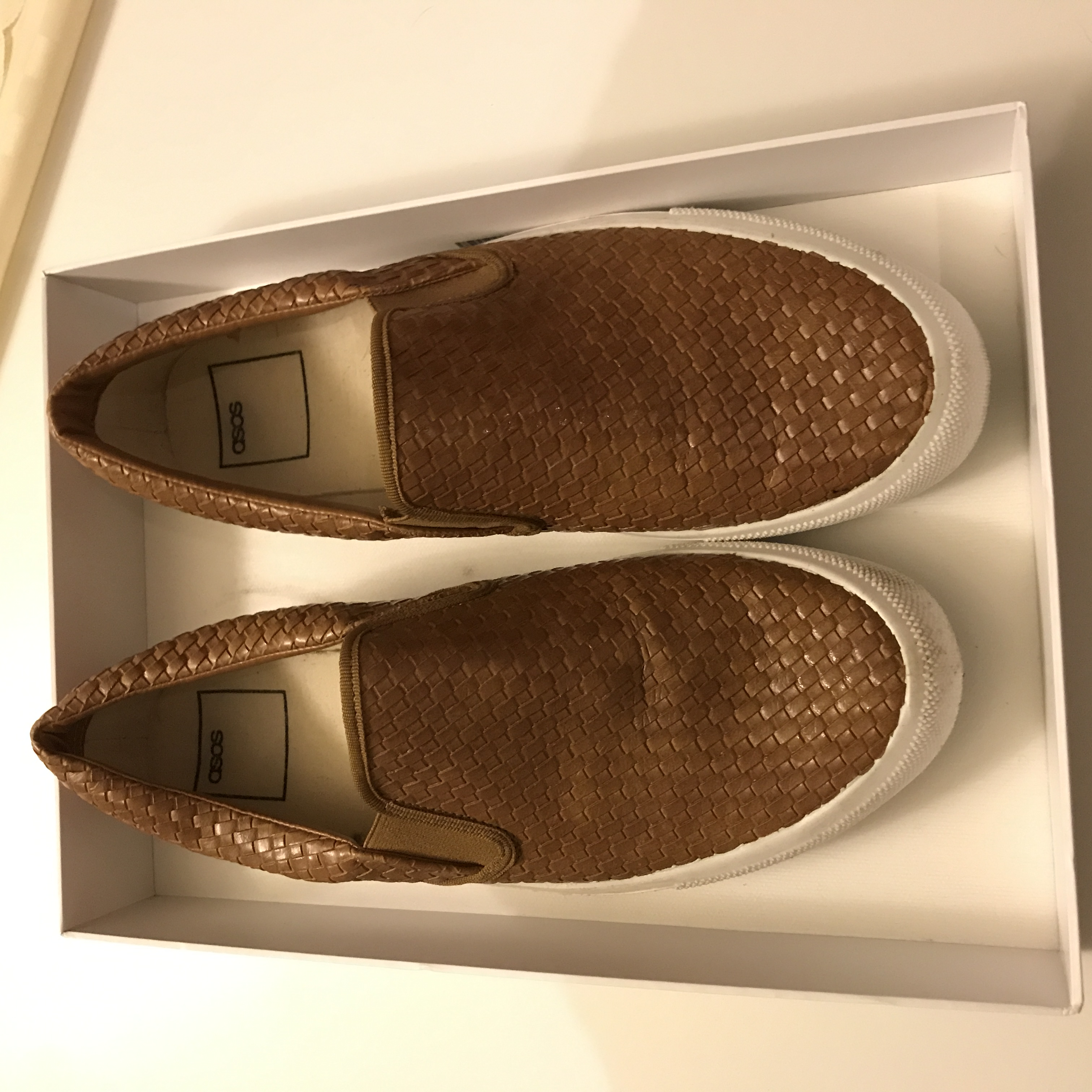 ASOS slip-on men's shoes