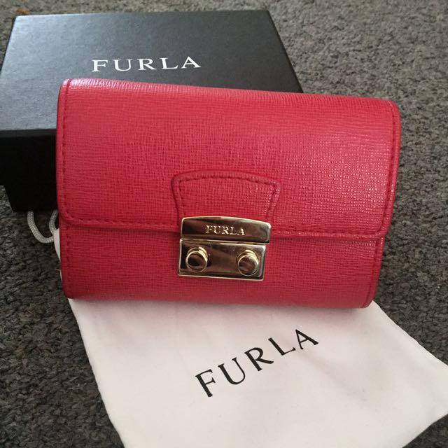 Authentic Furla Card Wallet