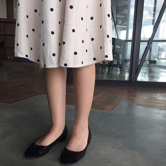 Ballerina Flats - Sparkle Black
